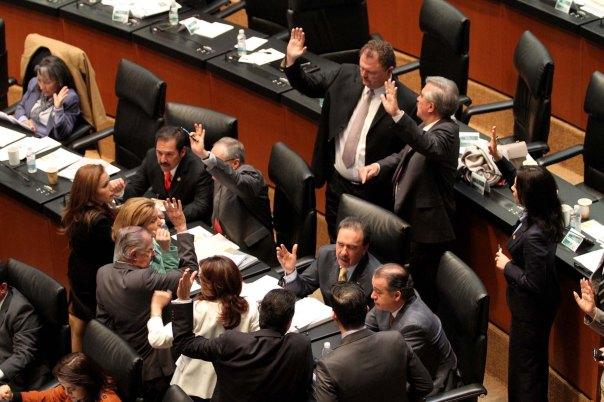 Discusión reformas en el Senado Mexicano