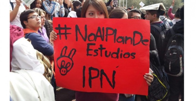 Protesta del IPN